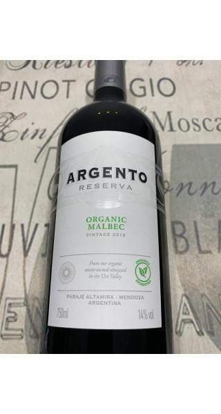 Vinho Argento Reserva Orgânico Malbec