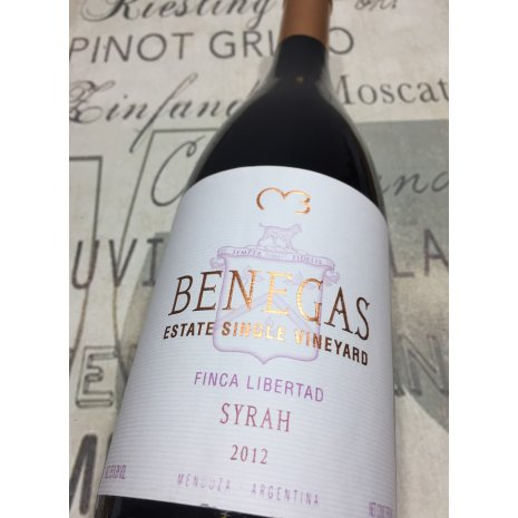 Vinho Benegas Estate Single Vineyard Finca Libertad Syrah