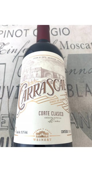 Vinho Weinert Carrascal Corte Classico Cosecha Especial 40 Anos