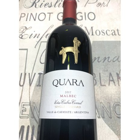 Vinho Quara Single Vineyard Malbec