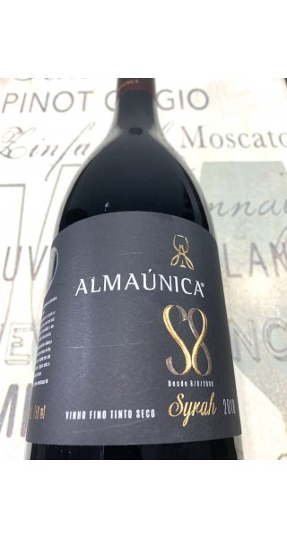 Vinho Almaúnica Syrah S8