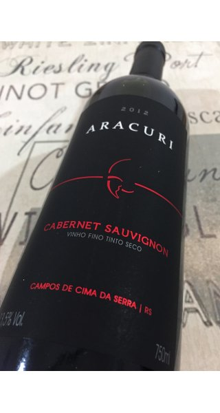 Vinho Aracuri Cabernet Sauvignon