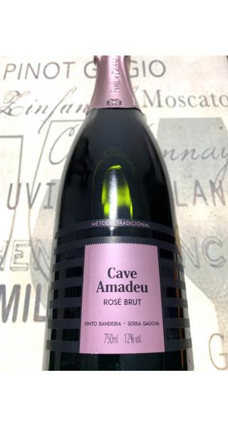 Espumante Cave Amadeu Brut Rosé