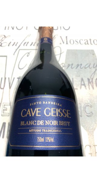 Espumante Cave Geisse Blanc de Noir Brut