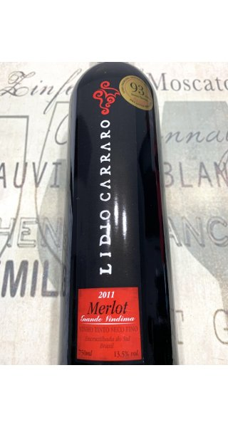 Vinho Lidio Carraro Grande Vindima Merlot