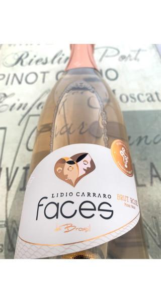 Espumante Lidio Carraro Faces Brut Rosé