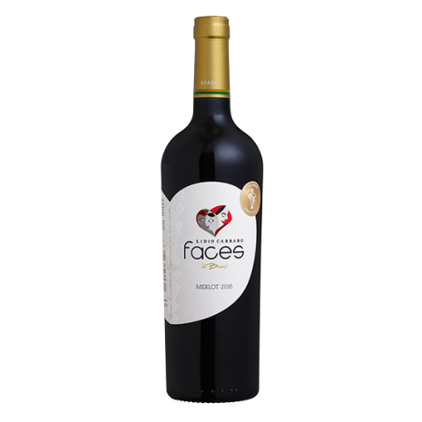 Vinho Lidio Carraro Faces Merlot