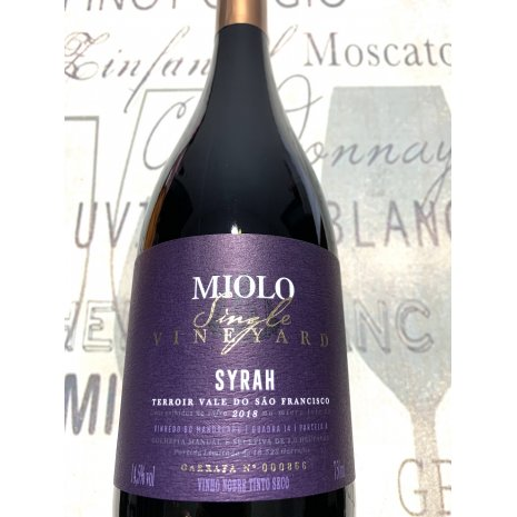 Vinho Miolo Single Vineyard Syrah