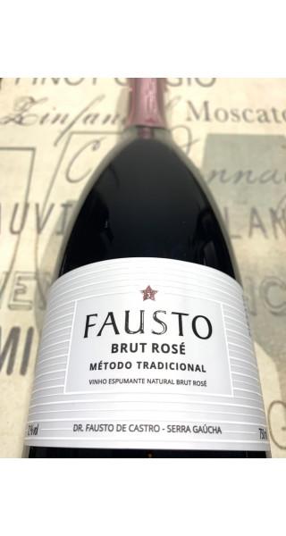 Espumante Pizzato Fausto Brut Rosé Tradicional