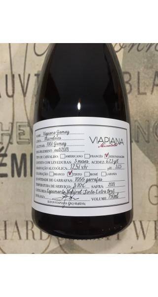 Espumante Viapiana Microlote  Extra Brut Gamay
