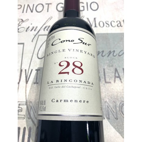 Vinho CONO SUR SINGLE VINEYARD BLOCK Nº28 Carmenere
