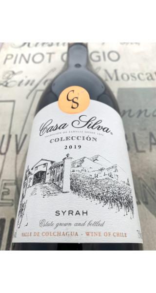 Vinho Casa Silva Colección Syrah