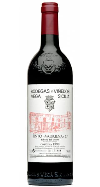 Vinho Vega Sicilia Valbueña 5º