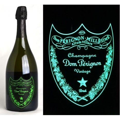 Champagne Dom Pérignon Vintage Luminous Label
