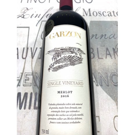 Vinho Garzón Single Vineyard Merlot