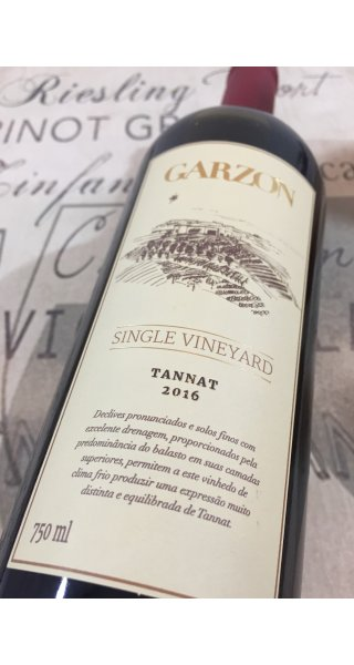 Vinho Garzón Single Vineyard Tannat