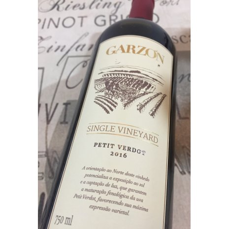 Vinho Garzón Single Vineyard Petit Verdot