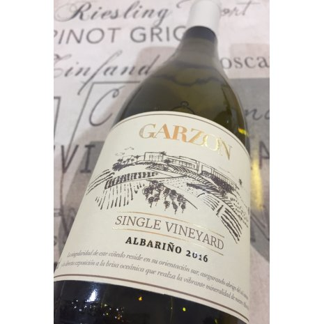 Vinho Garzón Single Vineyard Albarino 2016